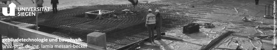gebäudetechnologie und bauphysik